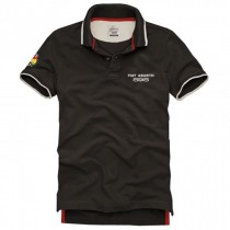 FIAT ABARTH Polo T-Shirt 595 MAN in Brown Color