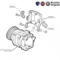 AC Compressor| 1.6| Palio| Petra| Adventure| Stile