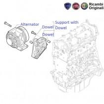 Fiat Grande Punto 1.3 MJD: Alternator