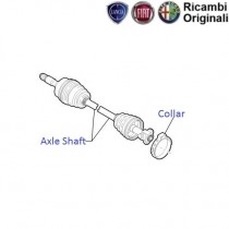 Fiat Punto 1.3 MJD: Axle Drive Shaft
