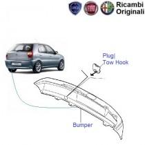 Fiat Palio: Rear Bumper