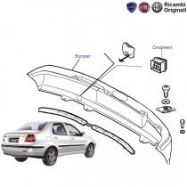 Fiat Petra: Rear Bumper