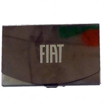 FIAT Card Holder| Gun Metal