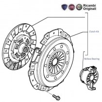 Clutch Kit| 1.6| Palio| Petra| Adventure| Stile