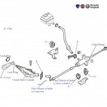 Components| Clutch Control| 1.3 MJD| Palio Stile