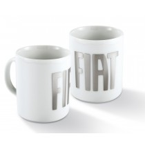 Coffee Mug| White-Silver