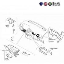 Fiat Punto Glove Box, Stereo Panel, Dashboard Trims
