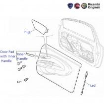 FIAT Linea 1.3 MJD: Door Pad Front Right