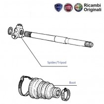 Boot| Drive Shaft|1.1| Palio Stile