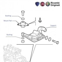 Engine B-Mount| 1.2| Palio| Siena