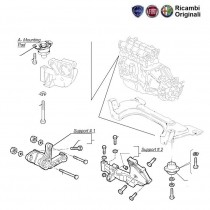 Engine Mountings| 1.9D| Palio| Petra