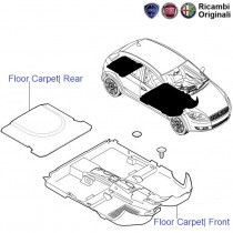 Fiat Punto 1.3 MJD: Floor Carpet
