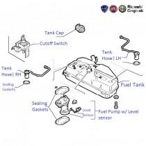 Fuel Tank & Pump| 1.7D| Siena(Pre-2001)