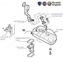 Fuel tank|Pump & lines| 1.9D| Palio| Petra