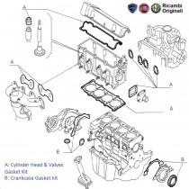 Engine Gasket kit| 1.2 FIRE| Punto