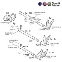 Gears Rod & Forks  1.3 MJD  Palio Stile