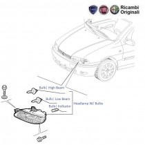 FIAT Palio Headlamp