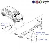 Fiat Punto: Lid Cowl Top Air Intake