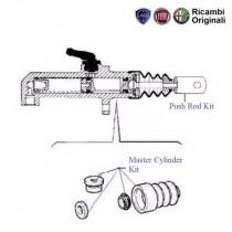 Master Cylinder Kit| Clutch| 1.1| Palio Stile