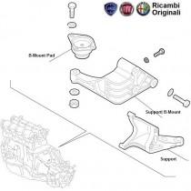 Fiat Palio Stile 1.3 diesel Engine mount Pad
