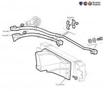 Fiat Palio 1.9 D: Oil Cooler Conveyor & Hoses