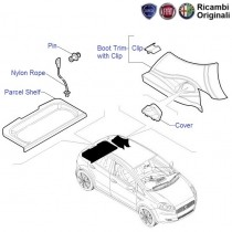 Fiat Punto: Parcel Shelf & Boot Trim