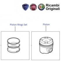 Piston & Rings| 1.2 FIRE| Punto
