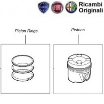 Piston & Rings| 1.3mjd| Stile
