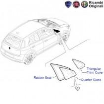 Fiat Punto: Front RH Quarter Glass