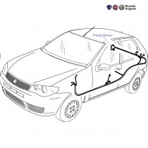 Rear Wiring Harness| 1.1| Palio Stile