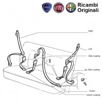 Rear Seat Belt| Palio| Stile| Petra