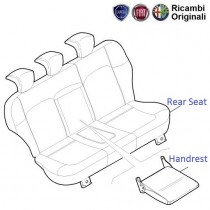 Fiat Linea: Rear Seat & Handrest
