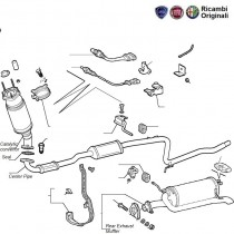 Exhaust Pipes  Adventure  1.6 16V