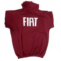 FIAT Sweat Shirt Red- Rear