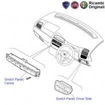 Fiat Punto: Switch Panels