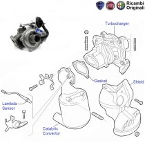 Fiat Punto: 75HP Turbocharger & Catalytic Convertor