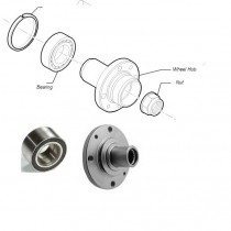 Wheel Hub & Bearing| Front| Palio| Petra| Adventure