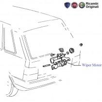 Wiper Motor  Rear  Uno