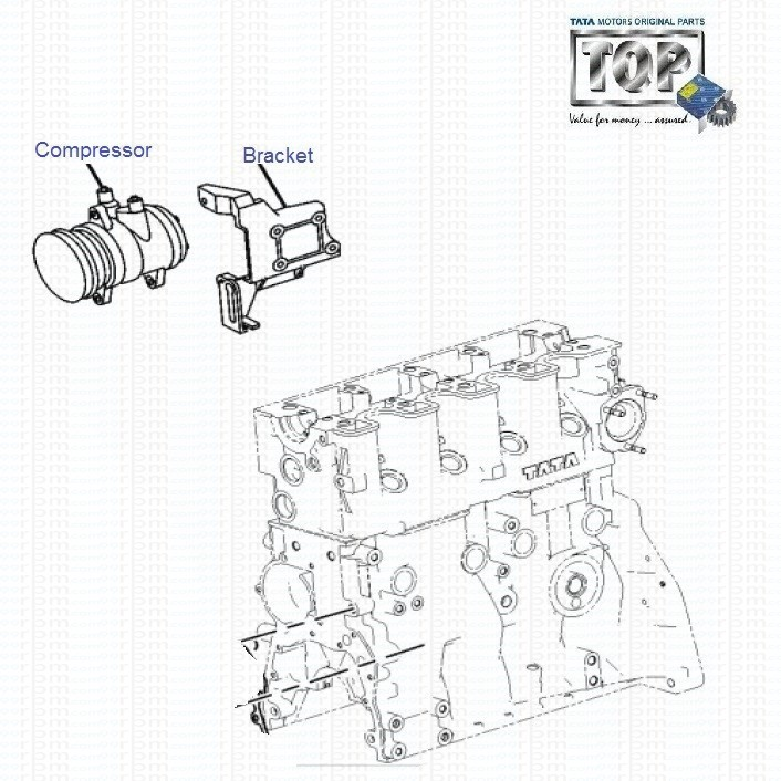Tata Ac Compressor For Indica Indigo Safari Strome Manza Xenon