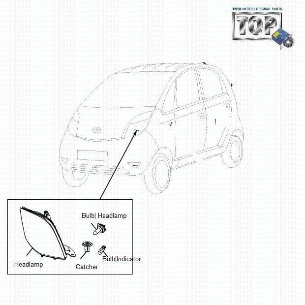 Tata nano headlights headlamp nano asfbconference2016 Images