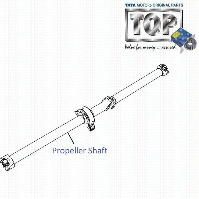 Propeller Shaft| 4x2| Safari| Safari (2008+)
