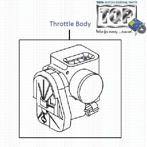 Throttle Body| 1.2 Safire| Vista