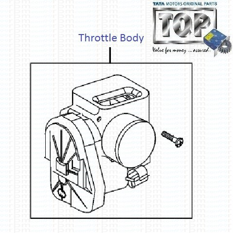 Throttle Body| 1.4 Safire| Manza| Vista