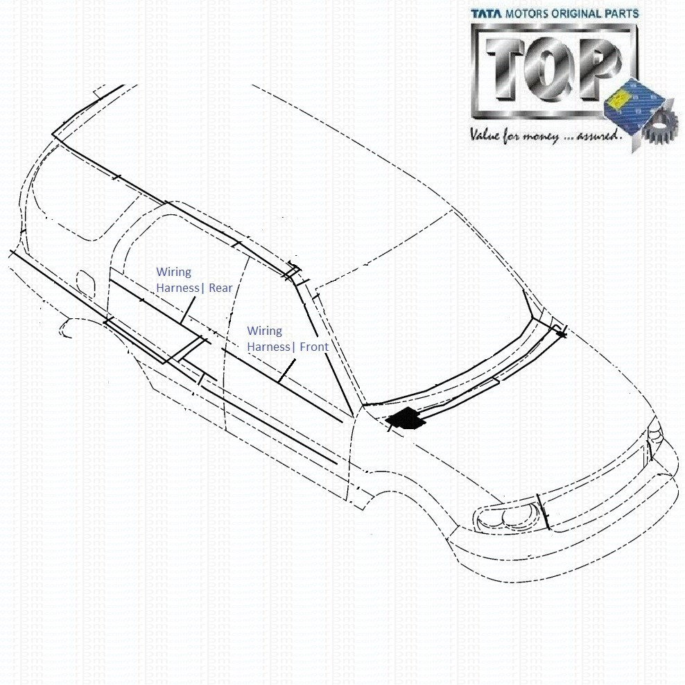wiring_harness_door_3.0l_safari tata safari 3 0l dicor door wiring harness tata safari dicor wiring diagram at creativeand.co