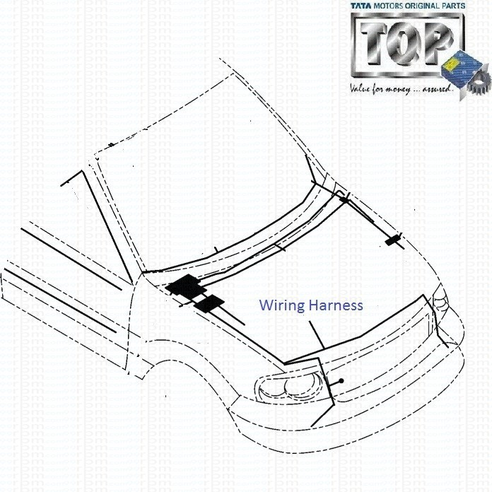 Tata Safari 3 0l Dicor Front Wiring Harness