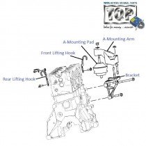 Engine A-Mount| 1.4 Turbo/TCIC| Indica V2