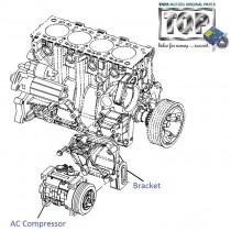 AC Compressor  3.0L DICOR  Safari