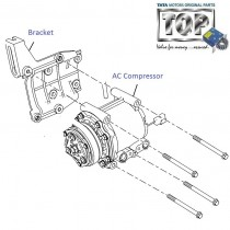 AC Compressor| 1.4 NA Diesel| Indica eV2
