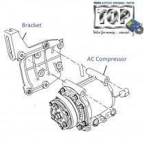 AC Compressor| 1.3 Qjet| Vista