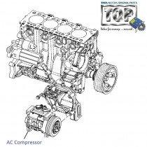 AC Compressor| 2.2 DiCOR| Safari| Safari (2008+)